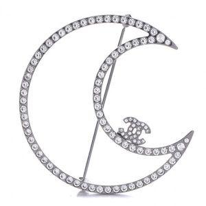Chanel Moon Brooch